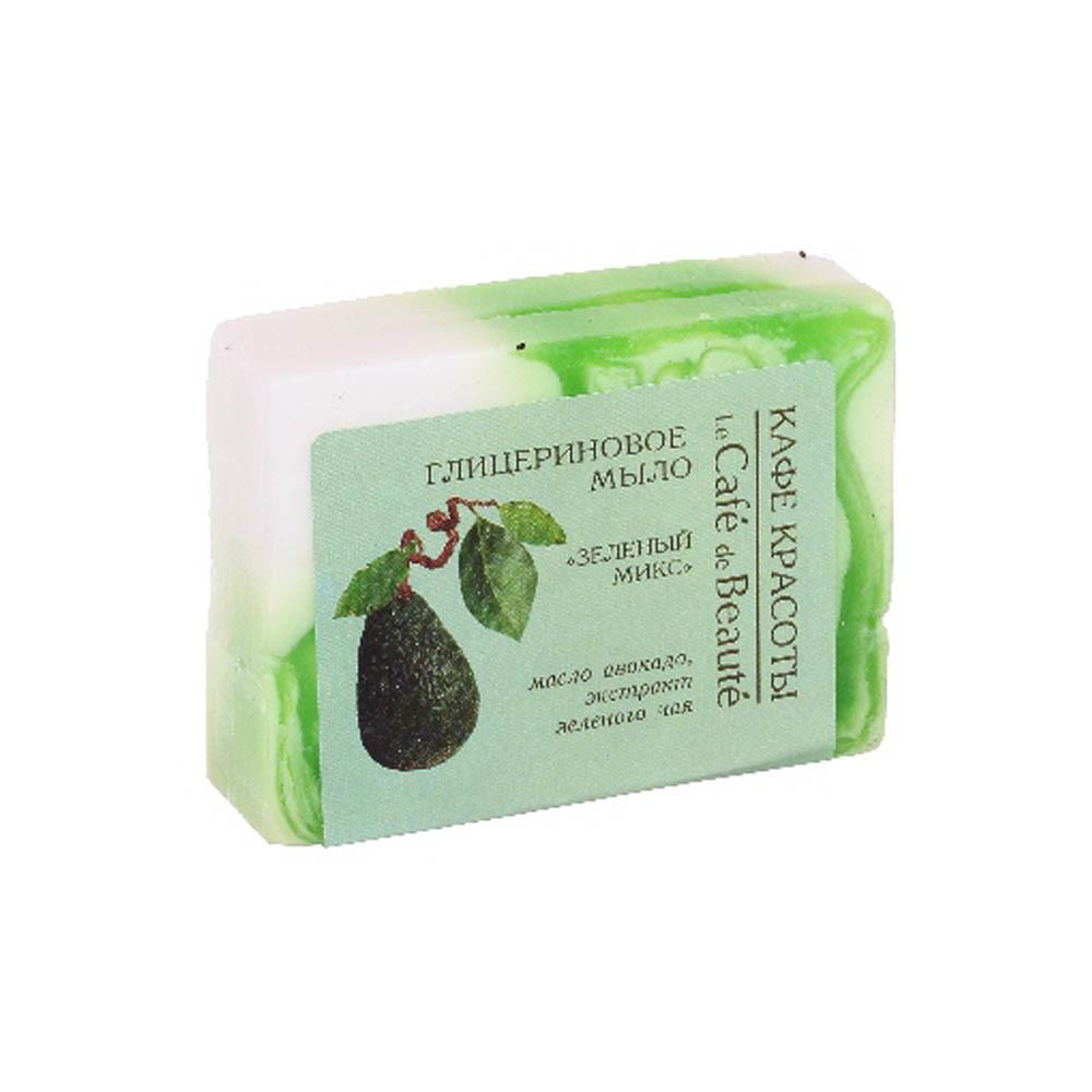 Мыло глицериновое Зеленый микс