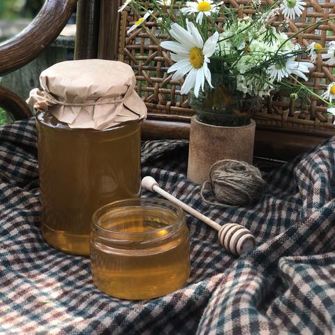 Фотография Мед Липовый с чабрецом / 1,2 кг купить в магазине Афлора