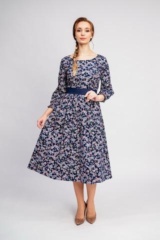 Тёплое платье на осень и зиму