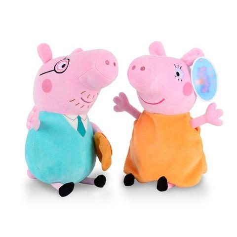 Игрушки мягкие Семья Розовой Свинки