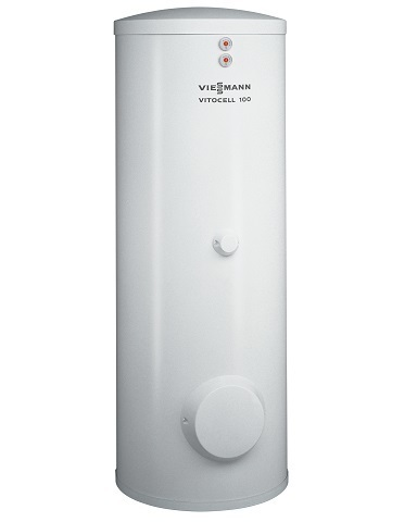Бойлер Viessmann Vitocell 100-W тип CVA 300 л приставной, Z013673