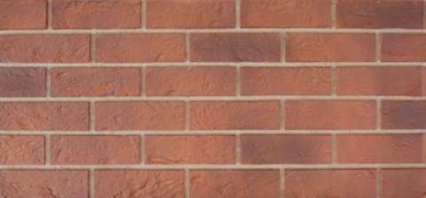 Фасадные панели Vox Solid Brick Bristol кирпич красный 1000х420 мм