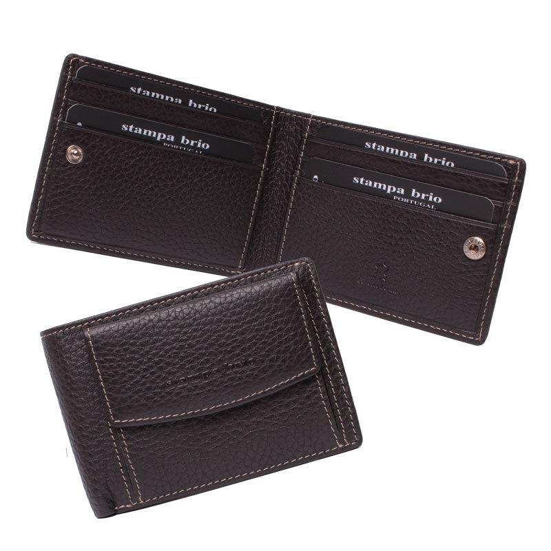 673 R - Портмоне компактное с монетником снаружи и RFID защитой