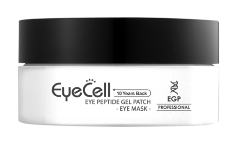 GENOSYS Eyecell Eye Peptide Gel Patch Пептидные гелевые патчи для области вокруг глаз, 60 шт