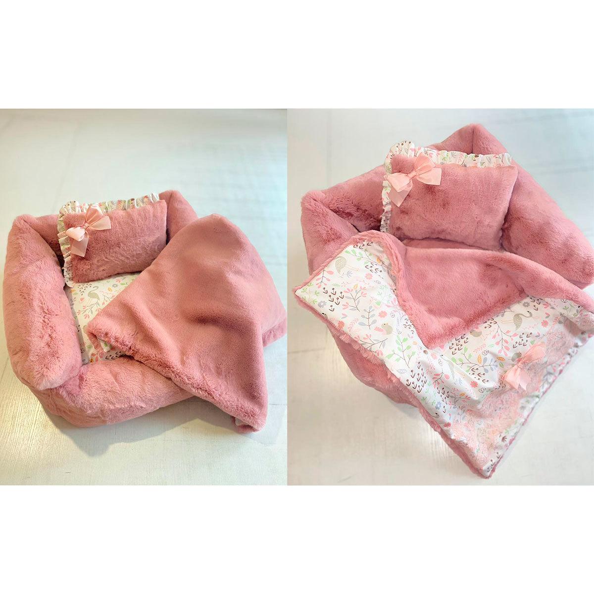 1961 - Комплект лежанка с одеялом для собаки
