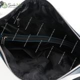 Сумка Саломея 171 валенсия аквамарин + черный