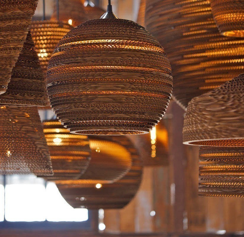 Подвесной светильник Ausi Scraplight by Graypants D28