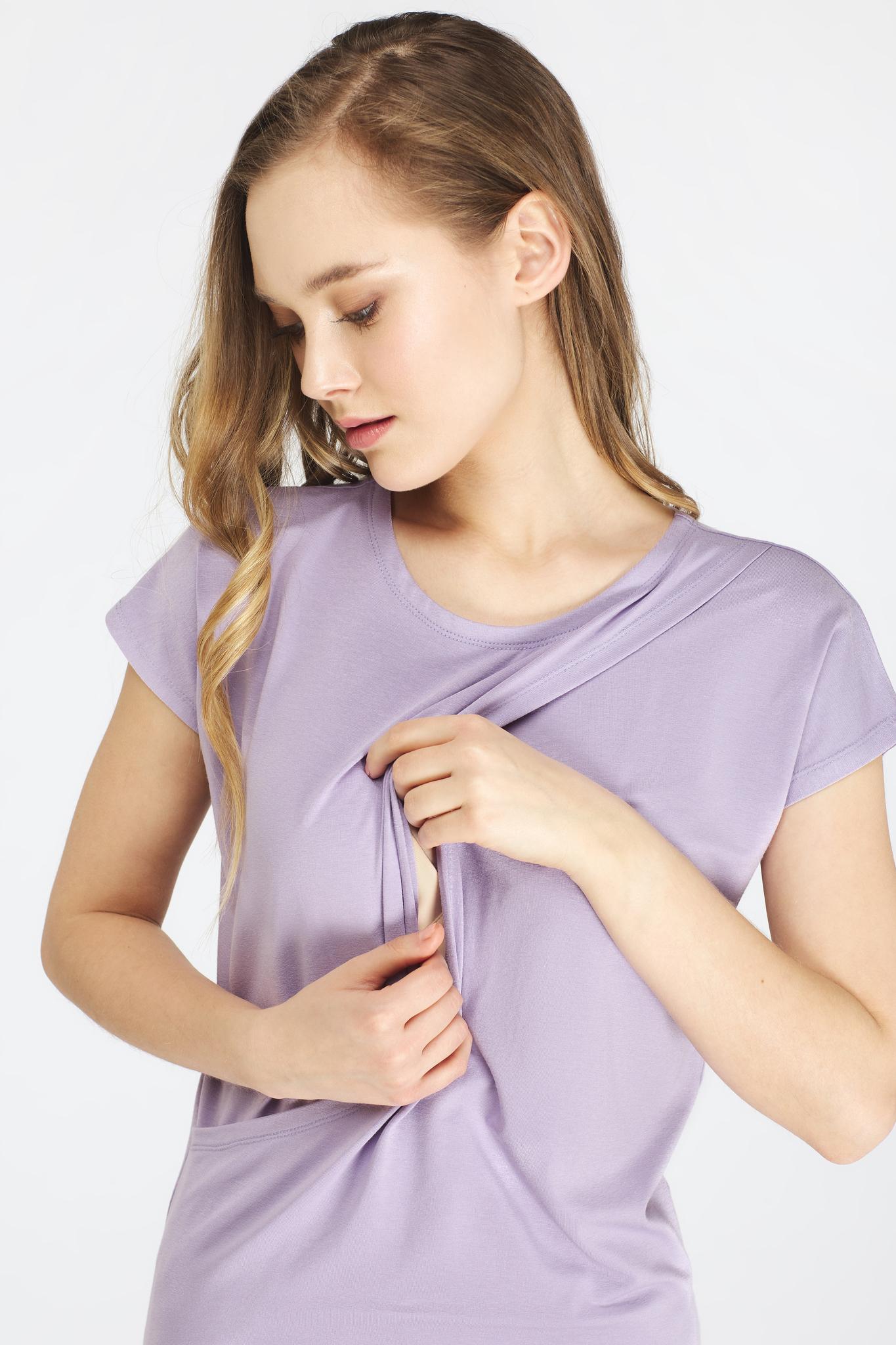 Блуза для будущих и кормящих мам - Фото 6