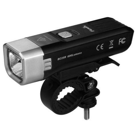 Фонарь светодиодный для велосипедов Fenix BC25R Cree XP-G3, 600 лм, аккумулятор