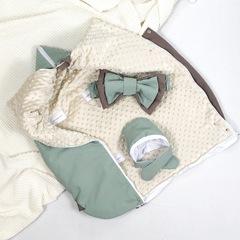 СуперМамкет. Конверт-одеяло всесезонное Мультикокон ®, Soft, мятный вид 5