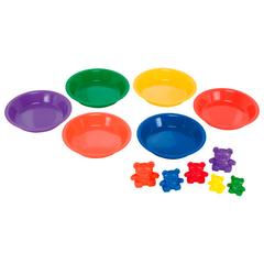 тарелки для сортировки Learning Resources