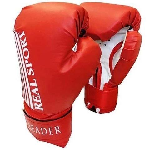 Перчатки боксерские  LEADER 12 унций, красный (ЕвСп) (36089 красн 12)