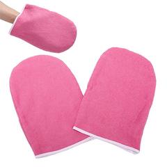 Варежки для парафинотерапии махровые, розовые