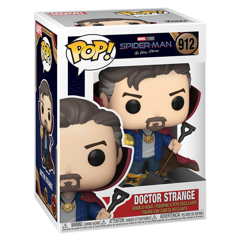 Фигурка Funko POP! Bobble Marvel Spider-Man No Way Home Doctor Strange 56828
