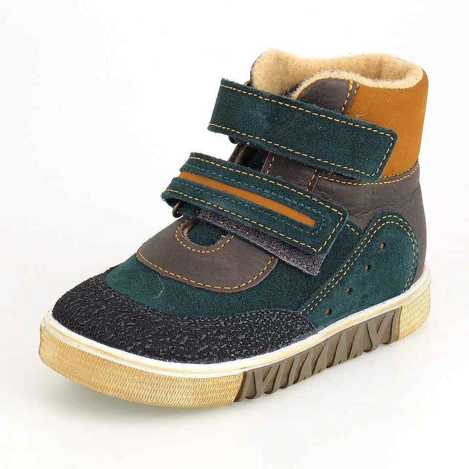 Ботинки ЛЕЛЬ _ М3-1519 зеленый