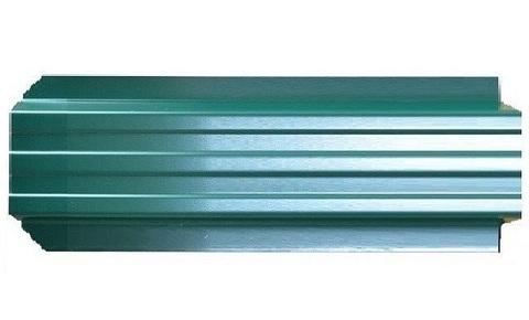 Штакетник металлический Евротрапеция (RAL6005(Зеленый мох))