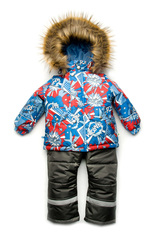 Зимний комбинезон-костюм для мальчика