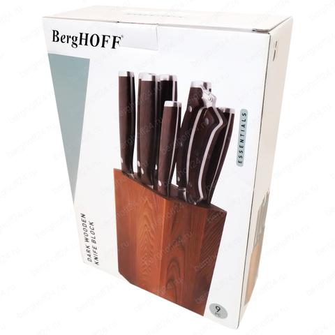 Набор ножей 9пр Dark Wood