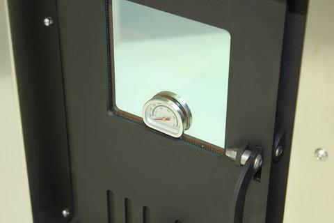 Стекло со встроенным термометром