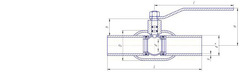 Конструкция LD КШ.Ц.П.250/200.025.Н/П.02 Ду250 стандартный проход