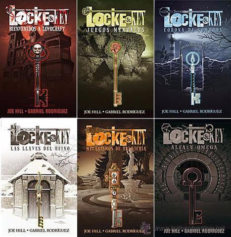 Ключи Локков. Полное собрание. Locke & Key Graphic Novel Set 1-6 (Hardcover)