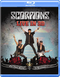 Scorpions / Live In 3D (Get Your Sting & Blackout)(Blu-ray)