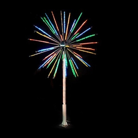 Светодиодный фейерверк Мини-Шар диаметр 1,2 метра