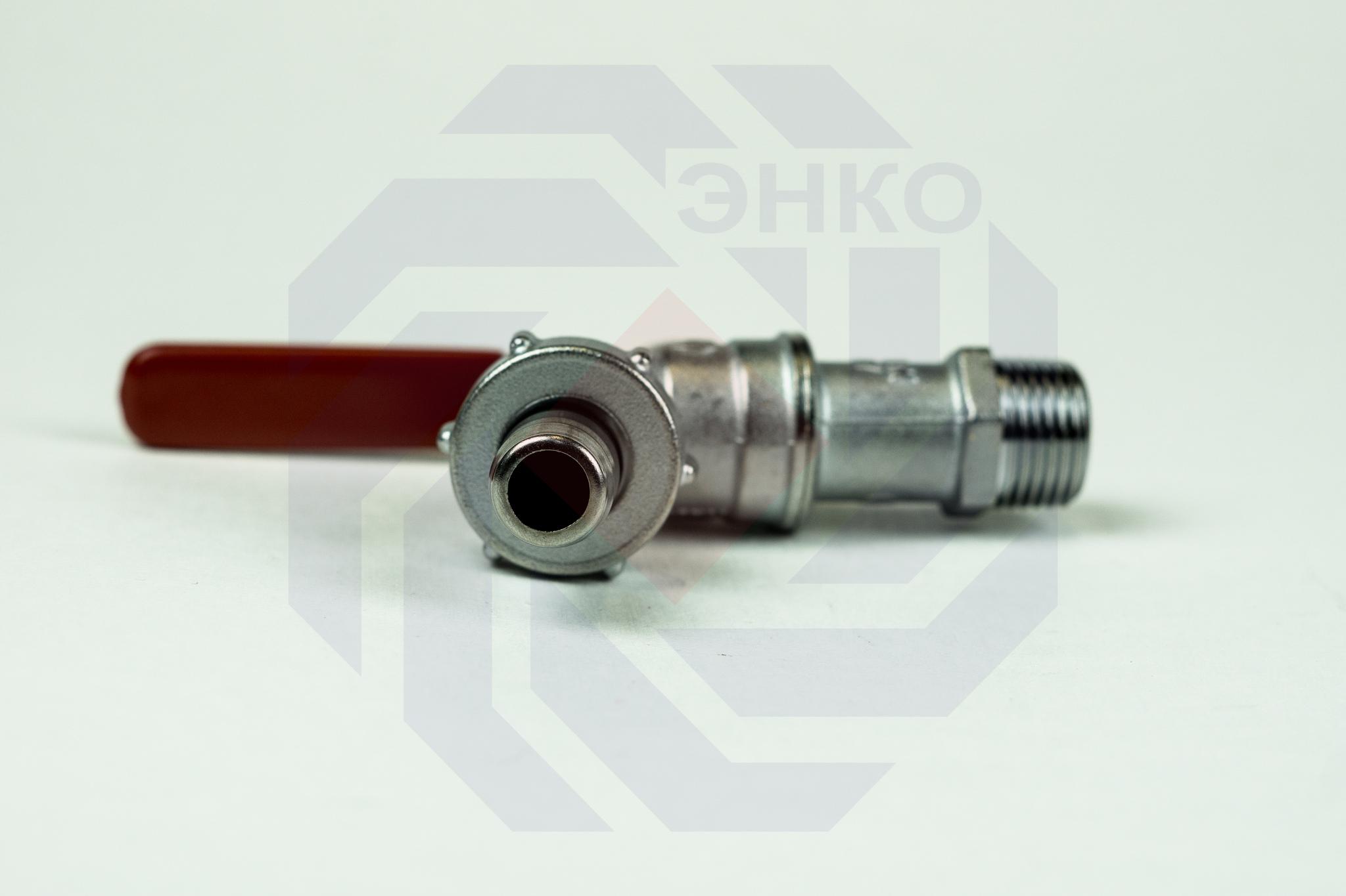 Кран шаровой с присоединением для шланга GIACOMINI R621 ½