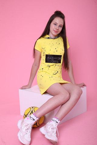 Туника для девочки Fashion girl пайетки Benini Турция, 6572 (140-176)
