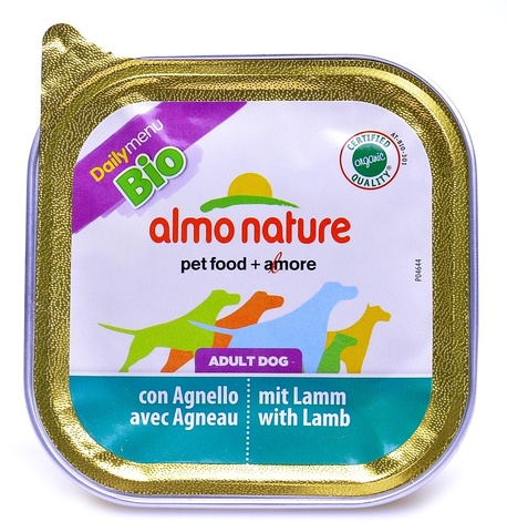 Консервы (ламистер) Almo Nature Daily Menu Bio - Pate Lamb