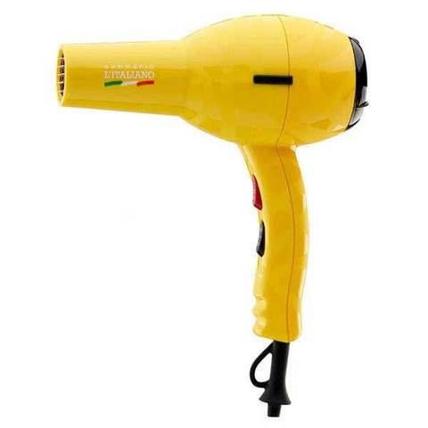 Фен для волос Gamma Piu L'Italiano 2000 Вт желтый