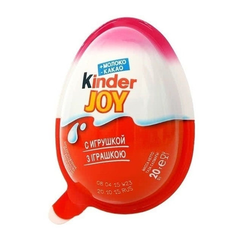 Яйцо шоколадное KINDER Joy д/девочек ПОЛЬША