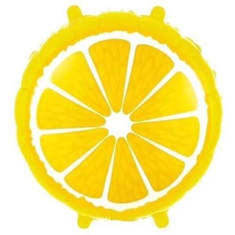 Фольгированный шар Лимон