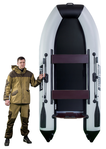 Моторно-гребная лодка RiverBoats RB — 300 (ПВХ, плоское дно)