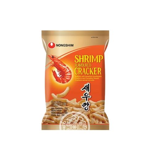 Чипсы NONGSHIM со вкусом креветок не острая 75г Корея