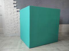Коробка для шаров (Бирюзовая) 60*60*60 см.