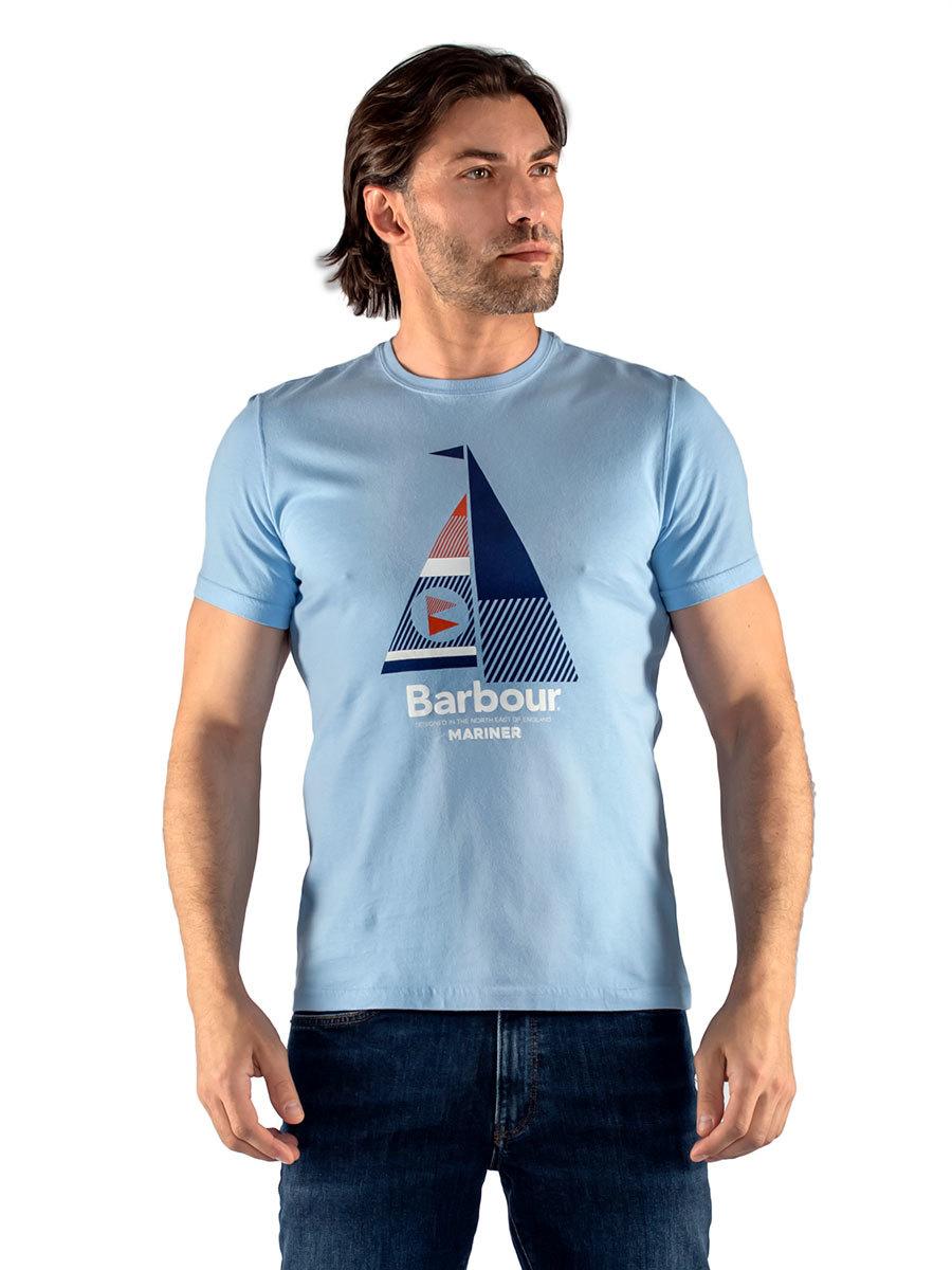 Barbour футболка Sail Tee MTS0681/BL37