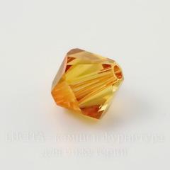 5328 Бусина - биконус Сваровски Crystal Astral Pink 4 мм, 10 штук