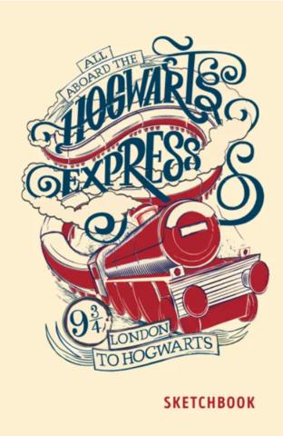 Скетчбук Hogwarts Express