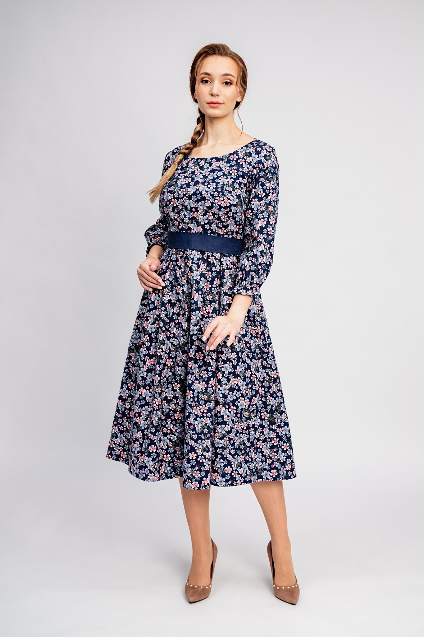 Тёплые платья больших размеров