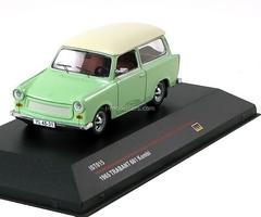 Trabant 601 Kombi pastel green-white 1965 IST015 IST Models 1:43