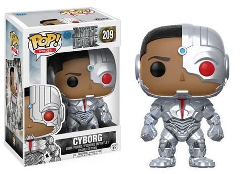 Фигурка Funko POP! Vinyl: DC: Justice League: Cyborg 13487