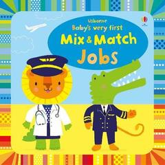 Baby's Very First Mix and Match Jobs (board bk)