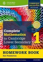 Mathematics for Cambridge Secondary 1, Homework Book 1 Oxford University Press