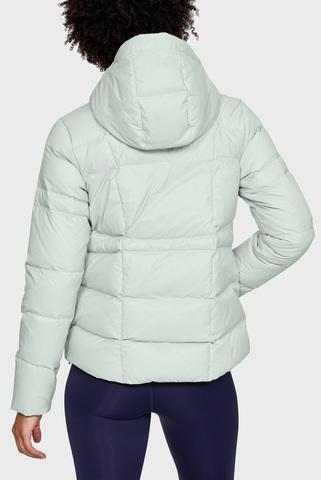 Женская оливковая куртка UA Armour Down Hooded Under Armour