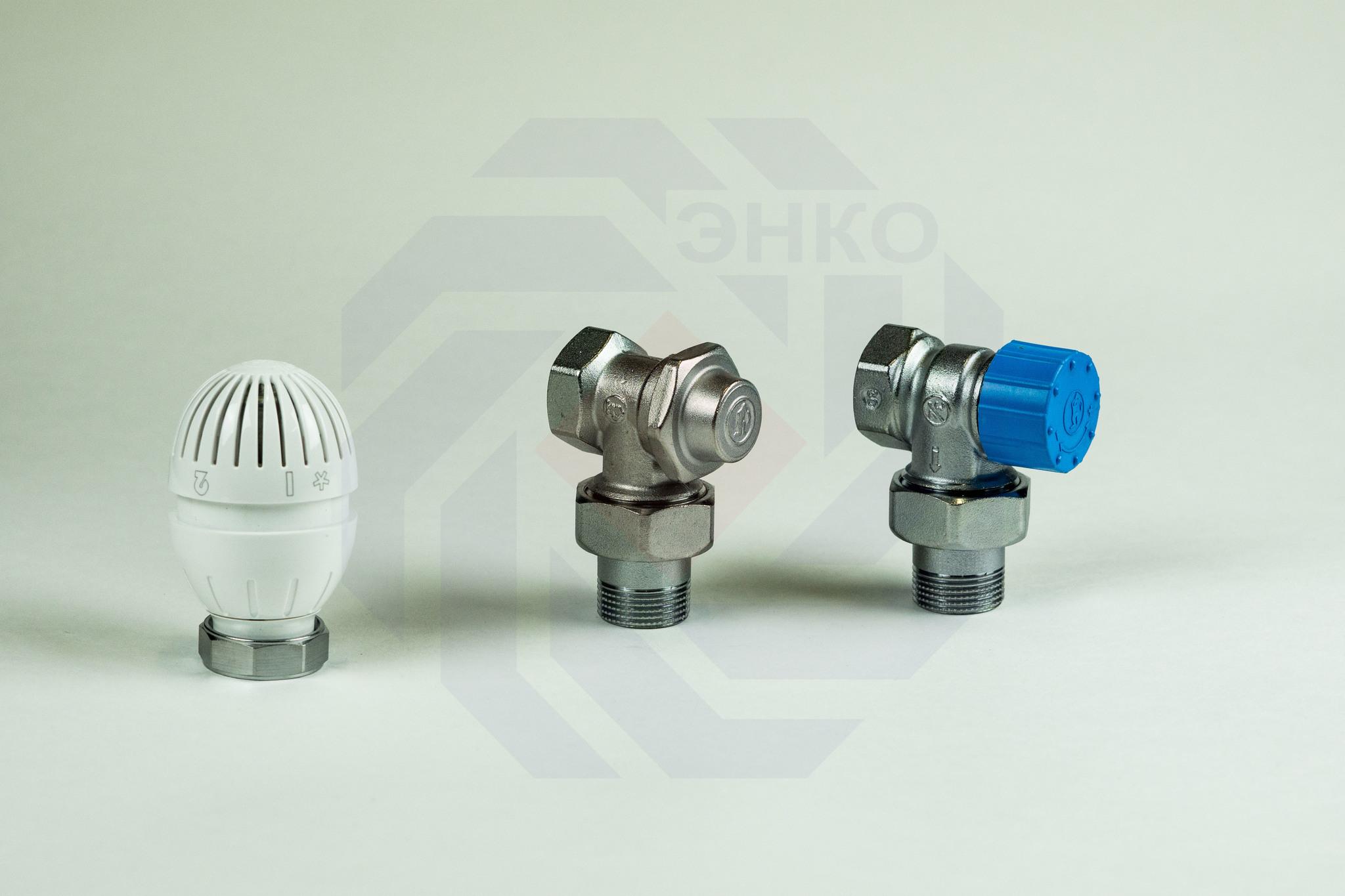 Комплект термостатической регулировки радиаторный GIACOMINI R470F-KV угловой ¾