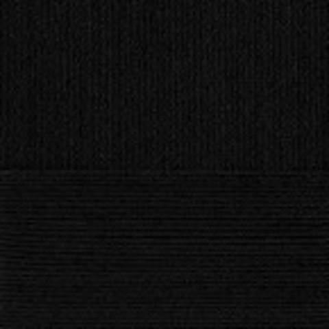 Пряжа Крапивная (Пехорка) 02 Черный