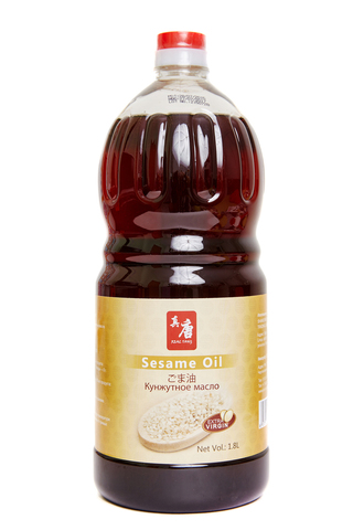 Кунжутное масло нерафинированное Real Tang, 1,8л
