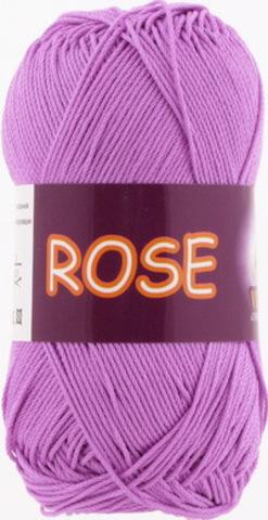 Пряжа Rose (Vita cotton) 3934 Светлый цикламен