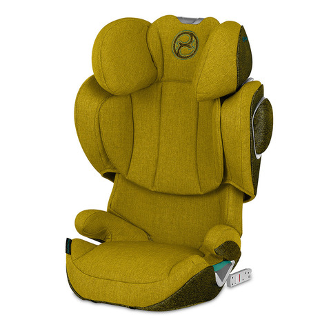 Автокресло Cybex Solution Z i-fix Mustard Yellow Plus